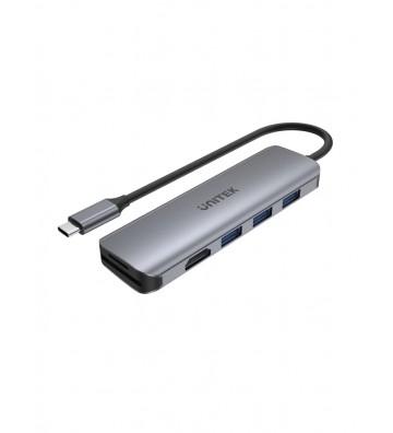 uHUB P5+ 6-in-1 USB-C