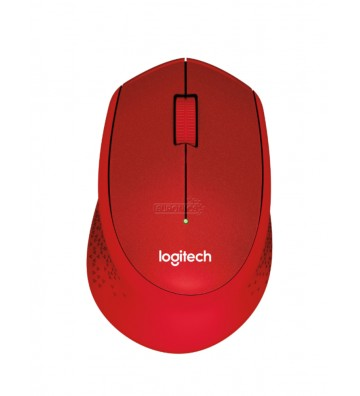 Logitech M330 Red Silent Plus Wireless Mouse
