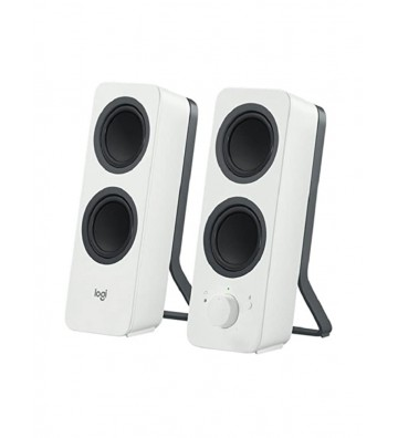 Logitech Z207 Off-White Bluetooth Computer Speakers