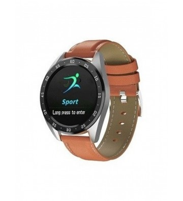 CHN Smart Watch X10 Brown Leather