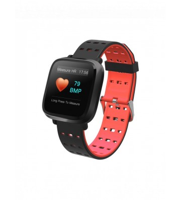 CHN Smart Watch Y8 - Black and Red